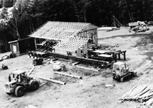 Kasaan Forest Products sawmill.